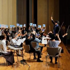 市民のクラシックオーケストラ Ensemble for Peace。